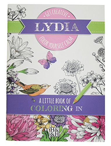 Lydia Pattern (Coloring Books Lydia Drawing Book)