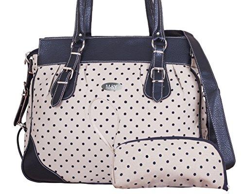 M & Y FULYA Calidad Premium pañales para bebé pañal bolso cambiador Mummy Bolso Hombro Cochecito Bolsa