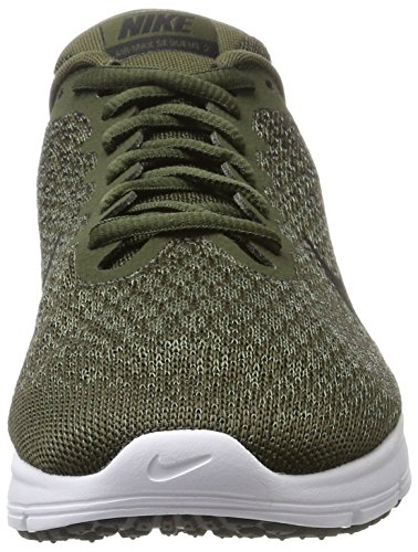 2 Black med Grey Running Nike Homme de Compétition Cargo Gris Chaussures Sequent volt Khaki Max Air Olive dark tOWwq7gF