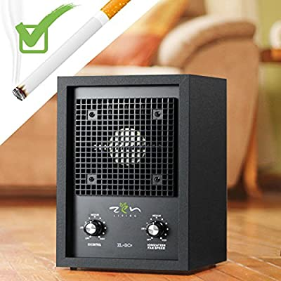 New Living Alpine Air Purifier Ionizer Ozone Generator Smoke Odor Remover