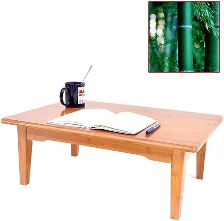 Muebles y Accesorios de jardín Mesas Sala de Mesa de café bahía de Mesa de café Ventana Tatami Dormitorio Cama Mesa de Ordenador, protección del Medio Ambiente de bambú: Amazon.es: Hogar