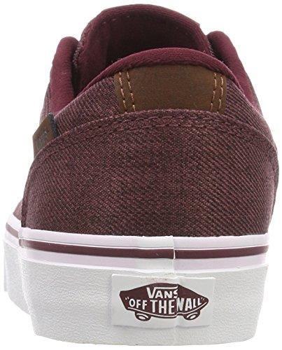 Rosso Uomo Vans Menswear Chapman Sneaker Stripe S18 66Itq
