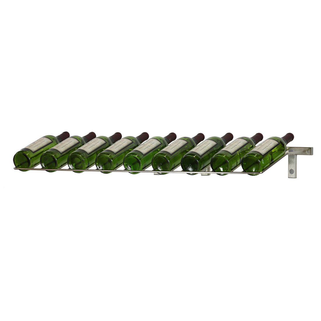 Platinum Series 9 Bottle Wall Mounted Wine Rack