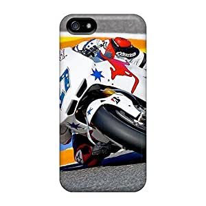 USMONON Phone cases Tough Iphone Case Cover/ Case For Iphone Iphone 5 5s(casey Stoner)