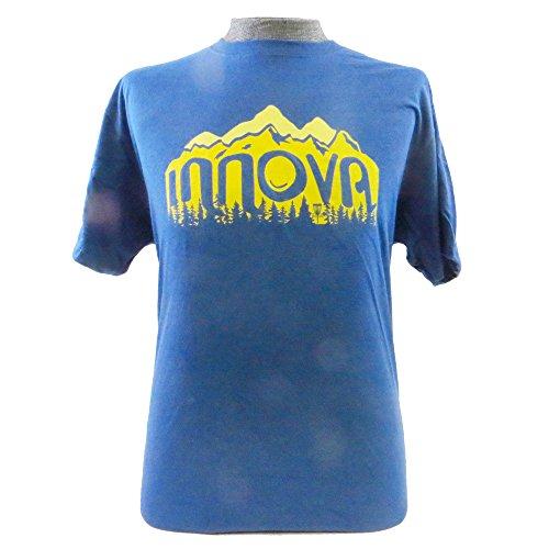 Innova Disc Golf Wilderness Short Sleeve T-Shirt - Blue - XL