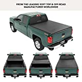 Bestop 16212-01 EZ Fold Truck Tonneau Cover for 2007-2013 Chevy Silverado/GMC 1500 Crew Cab (w/o bed management system; won't fit classic body style), 5.8' bed