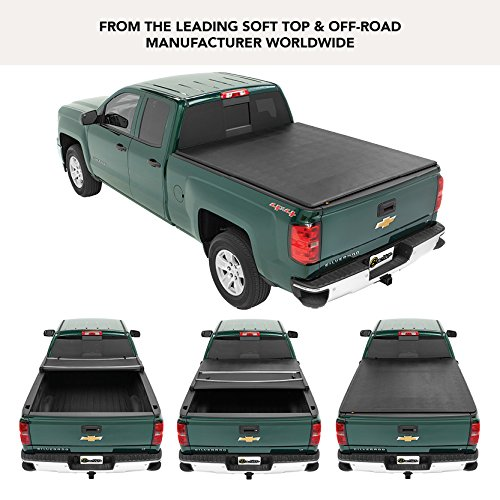 Bestop 16151-01 EZ Fold Truck Tonneau Cover for 2004-2012 Chevy Colorado/GMC Canyon, 5.0