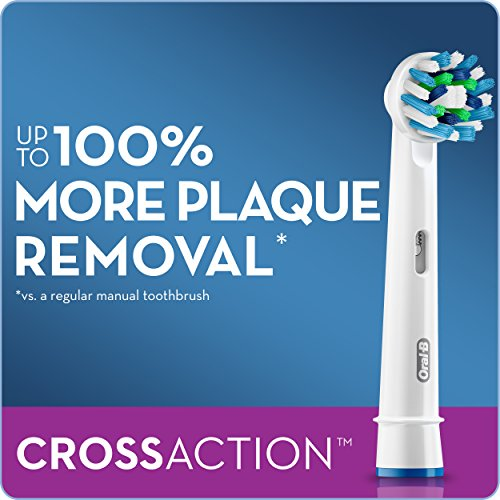 Oral-B Cross Action Electric Toothbrush Replacement Brush Heads Refill, 2 Count Packaging may Vary by Oral B (Image #8)