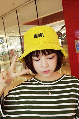 Generic Korean version of the fun characters bucket hats cas