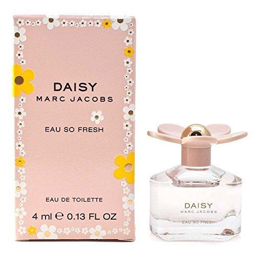 Marc Jacobs Daisy Eau so Fresh Eau de Toilette Mini Splash, 0.13 Ounce (0.13 Ounce Mini Perfume)