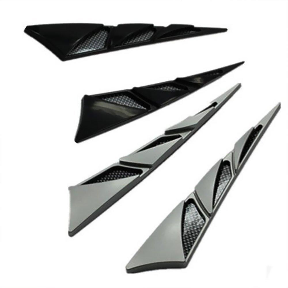 Entrada de aire universal decorativa para autom/óvil con estilo deportivo de Soccik para el cap/ó y apta para la mayor/ía de veh/ículos autoadhesiva