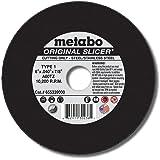 Metabo 3 x .040 x 3//8-Inch A60TZ Type 1 Slicer Cutting Wheel 100pk