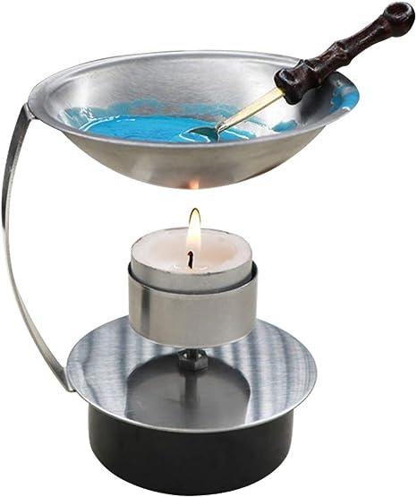 majome talla regulable de fuego perlas de cera réchauffeur ...