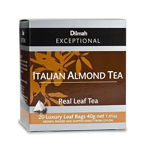 Dilmah Italian Almond Tea (20 Tea (Amaretto Tea Bags)