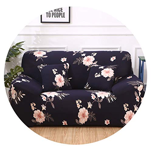 Blue-shore Universal Elastic Sofa Covers for Living Room Sofa Towel Slip-Resistant Sofa Cover Stretch Sofa Slipcover,colour1,1-Seater 90-140cm