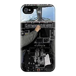 High Quality Hard Phone Cover For Iphone 6 (cHy20029OMgr) Allow Personal Design Attractive Cockpit Image