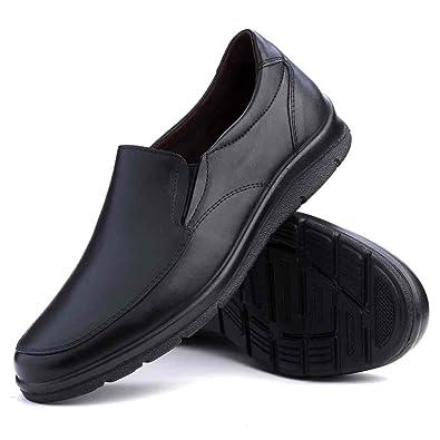 PITILLOS Zapato hombre 4650 sin cordones (45, NEGRO)