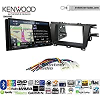 Volunteer Audio Kenwood Excelon DNX994S Double Din Radio Install Kit with GPS Navigation Apple CarPlay Android Auto Fits 2010-2015 Non Amplified Toyota Prius
