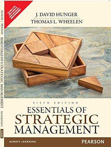 Essentials Of Strategic Management, 5 Ed