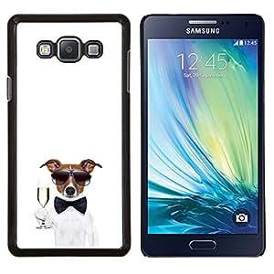 YiPhone /// Prima de resorte delgada de la cubierta del caso de Shell Armor - Naturaleza Hermosa Forrest Verde 17 - Samsung Galaxy A7 A7000