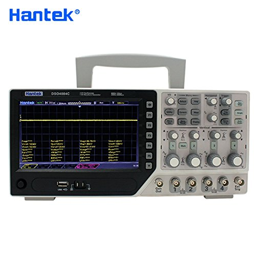 Hantek DSO4084C Digital Oscilloscope 80MHz 4 Channels USB PC Osciloscopio +1 Channels Arbitary/Function Generator