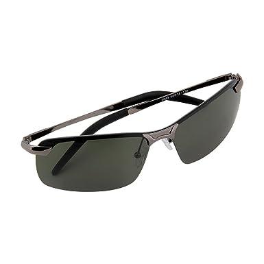 09370f87695c Fashion Men HD Polarized Sunglasses Men s Fishing Driver Sunglass Mirror  Outdoor Sports Eyewear Green