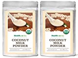 Healthworks Coconut Milk Powder Organic (Dairy Free), 1lb (2 8oz Packs)