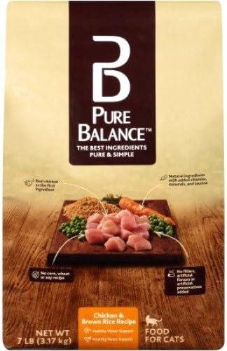 Análisis de la comida para gatos Pure Balance 8