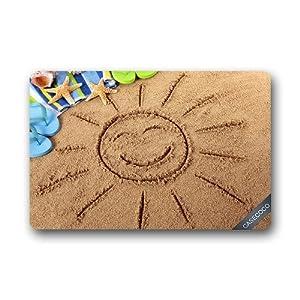 516fFk3t3iL._SS300_ 100+ Beach Doormats and Coastal Doormats