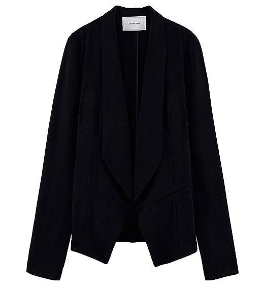 offre les dernières nouveautés les mieux notés dernier Promod Veste Spencer Femme Noir 34: Amazon.fr: Vêtements et ...