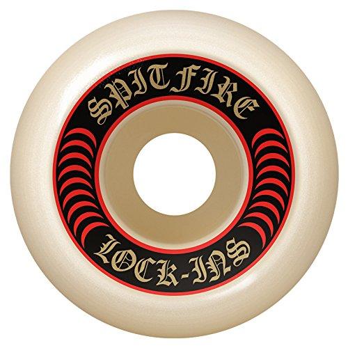 談話ガラガラ赤字スピットファイア (SPITFIRE) F4 101 DURO LOCK INS 53mm スケートボード ウィール スケボー