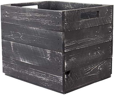 Vinterior Juego de 4 Caja de Madera Used para Kallax estanterías, Fruta (Estantería Caja, Caja Caja Caja de Manzana Fruta (cajón-estantería para estantería Expedit: Amazon.es: Juguetes y juegos