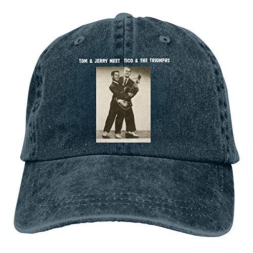 Jason A Ramirez Simon & Garfunkel Tico & The Triumphs Unisex Breathable Sun Hat,Fashion Baseball Cap,dad Hat,Adjustable