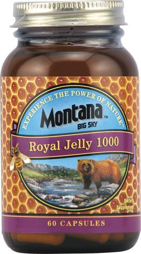 Montana Royal Jelly 1000 -- 60 Capsules - 3PC by Montana Big Sky