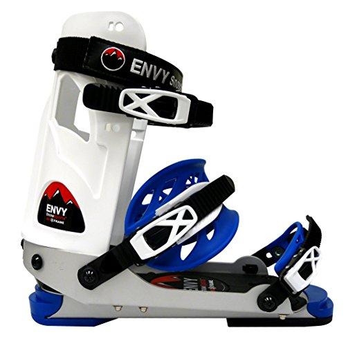 Envy Ski Boot Frame - Comfortable Ski Boots (White, Large)
