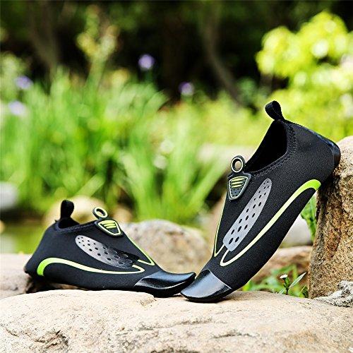 de natación corriente transpirables suave SHINIK de B Agua arriba velocidad Zapatos Zapatos amantes de Zapatos fondo de playa Zapatos antideslizantes la Interferencia en yoga Px0qSxw4