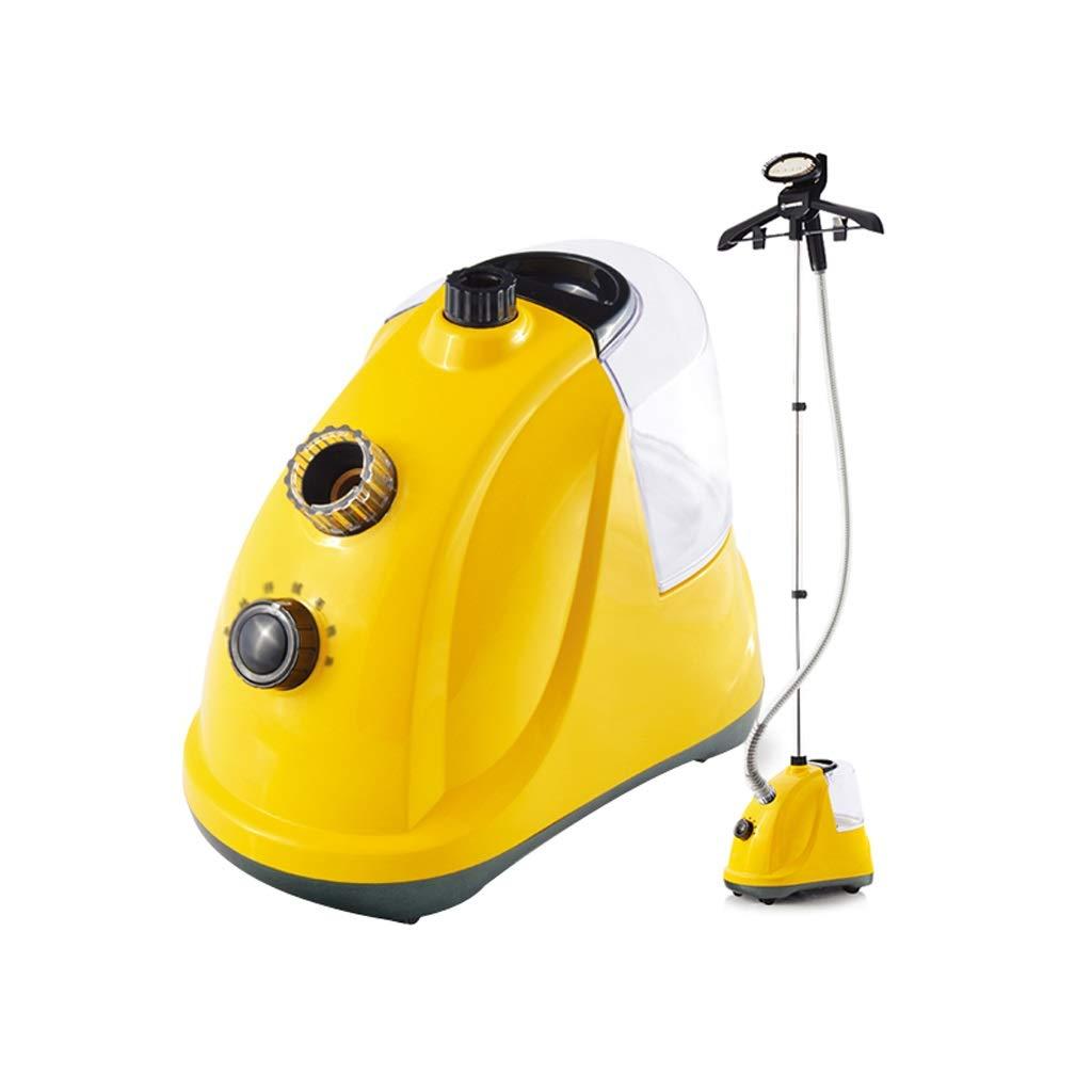 LCSHAN 服スチームハンギングマシンホームハンドヘルドハンギングアイロン電気アイロン (色 : 黄) B07QCJVRPS 黄