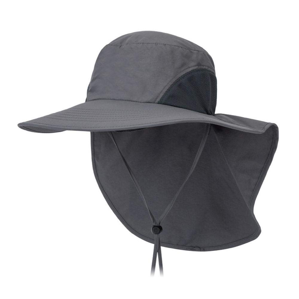 Work Product Protection Fishing For >> Mogoi Fishing Hat Sun Protection Cap 360 Uv Protection Upf 50 Wide Brim Folding Sun Hat With Neck Flap Or Men Women Hiking Fishing Outdoor Yard