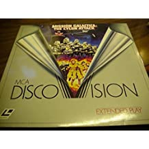 Laser Disc, Laserdisc of Battlestar Galactica, Mission Galactica: The Cylon Attack. 1979 Rated G. 108 Minutes.