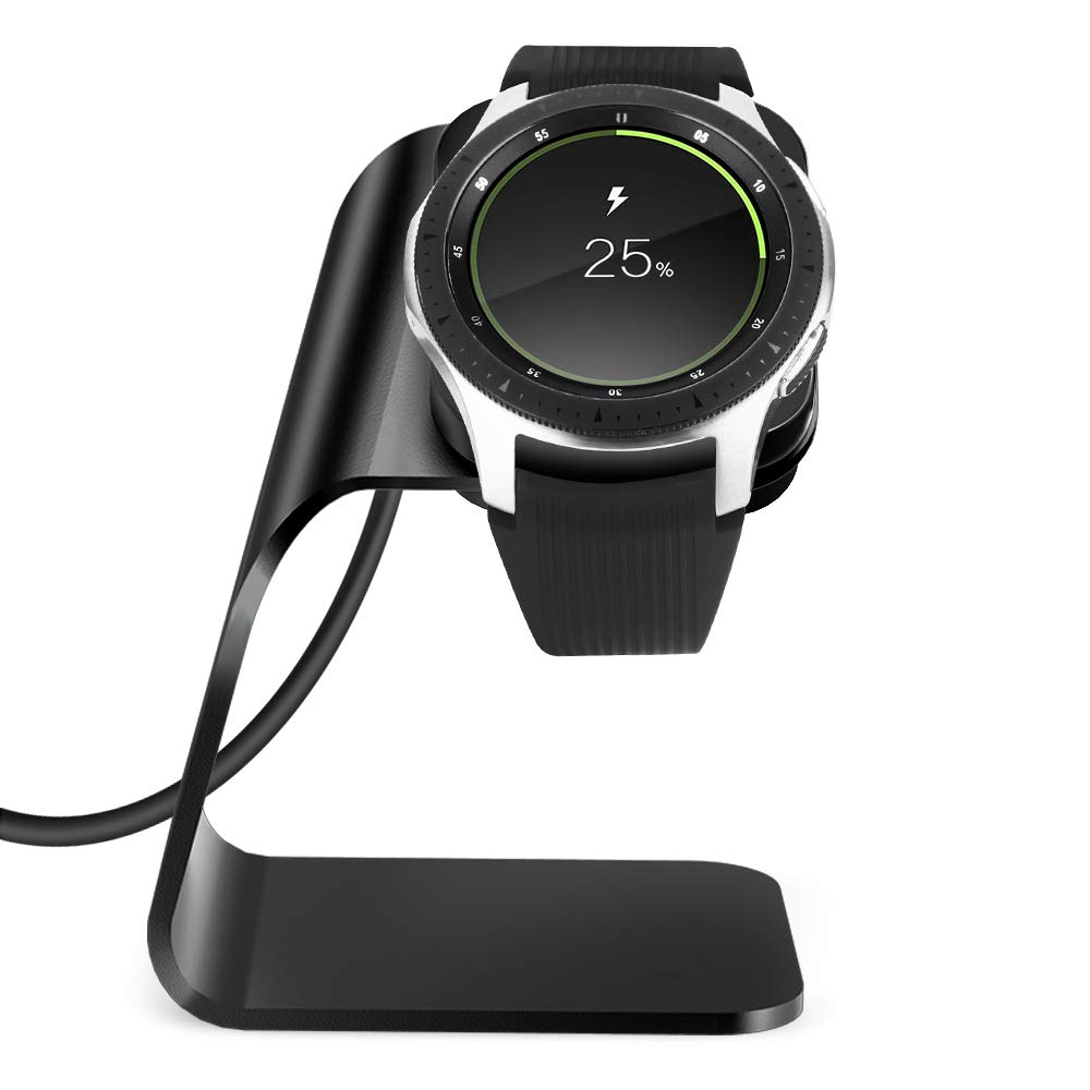 NANW Charger Compatible with Samsung Galaxy Watch 42mm 46mm Gear S3 (Not for Active), Replacement Charging Cradle Dock Station Adapter Holder ...