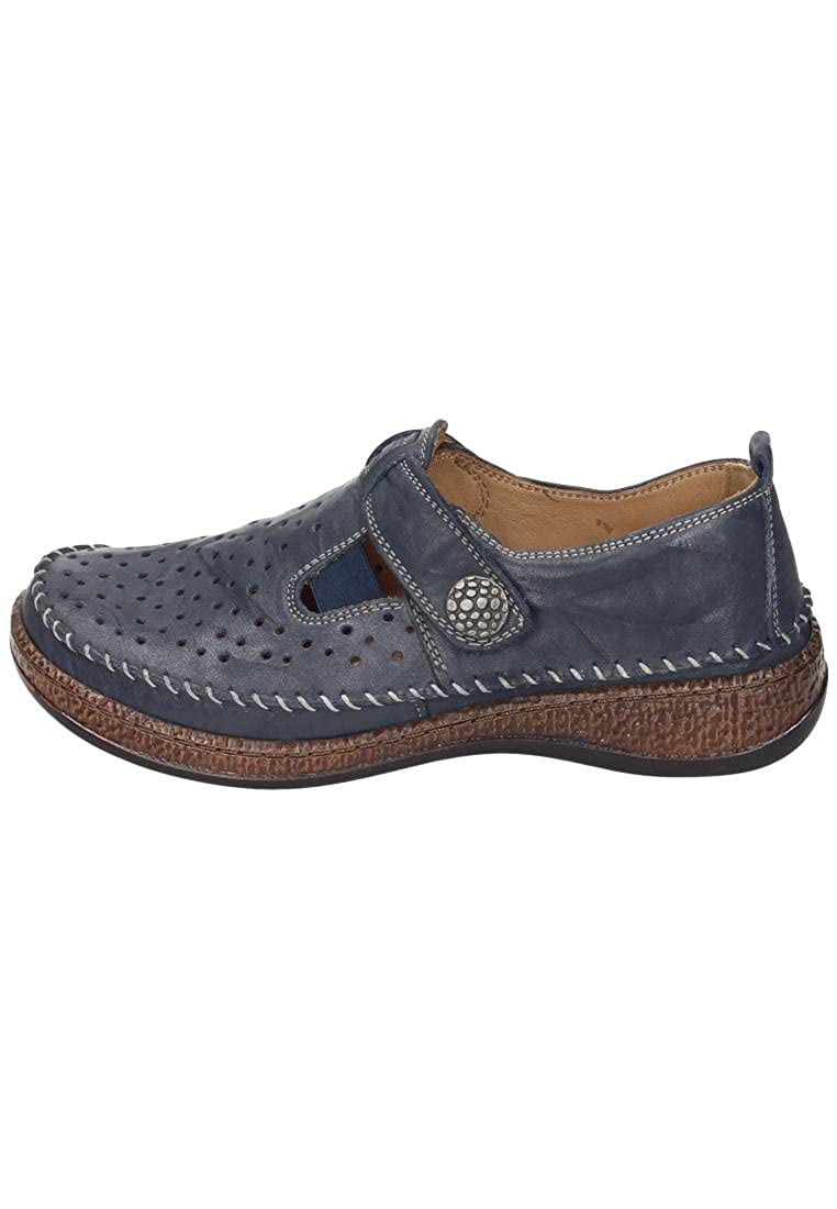Comfortabel Damen-Slipper Blau 942191-5, Grösse 40
