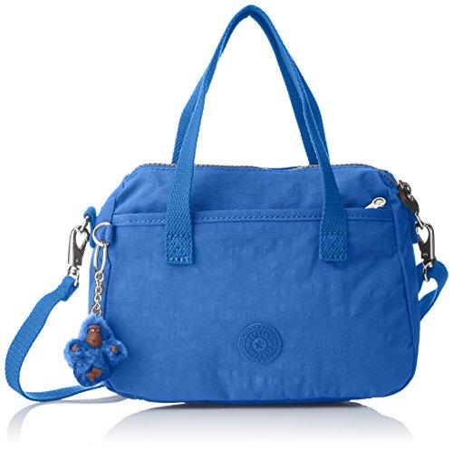 KIPLING Womens Emoli Shoulder Bag Blue (Saxony Blue)