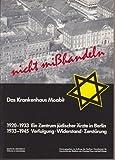img - for Nicht misshandeln (Sta tten der Geschichte Berlins) (German Edition) book / textbook / text book