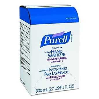 Amazon Com Purell Advanced Hand Sanitizer Gel 800 Ml Hand