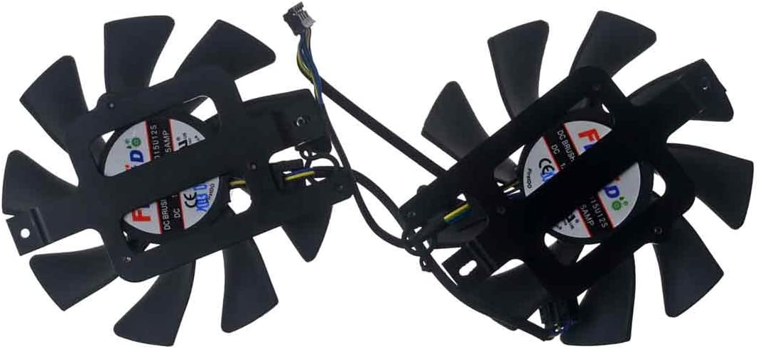 FD9015U12S 85mm DC 12V 0.55A 80mm 4Pin Replacement Graphics Video Card PC Cooling Dual Fan