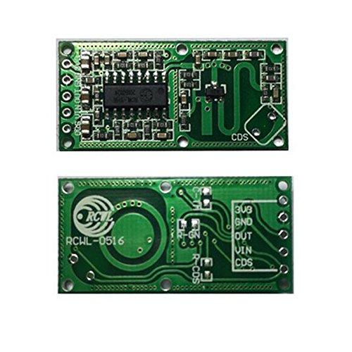 Hrph RCWL-0516 Microwave Radar Sensor Module Human Body Induction Switch Module Lntelligent Sensor