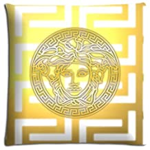 16x16 inch 40x40 cm bench pillow protector case Polyester Cotton fresh quality versace