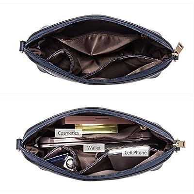 Purses and Handbags Designer Handbags for Women Tote + Crossbody + Envelope 3 Purses Set