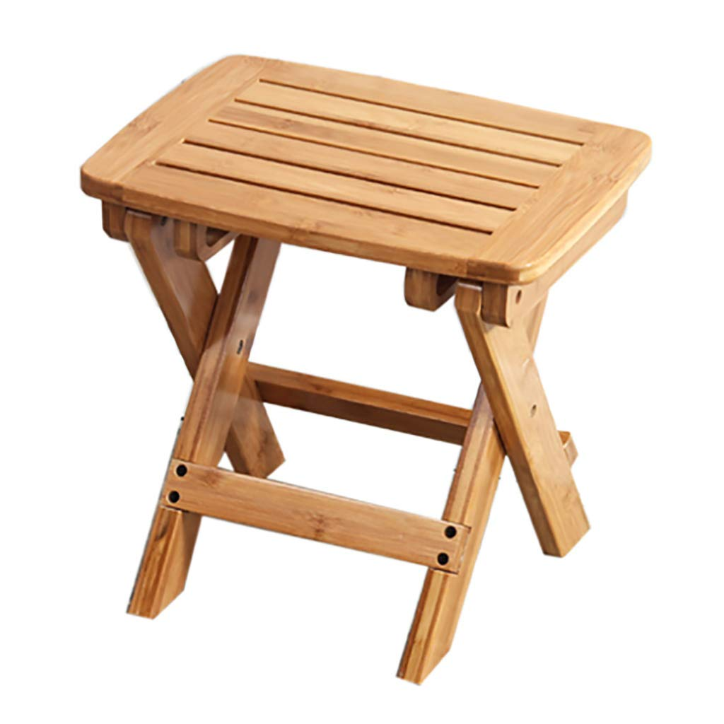 31.53044cm Bamboo and Bamboo Folding Chair Portable Simple Stool (Size   31.5  30  44cm)
