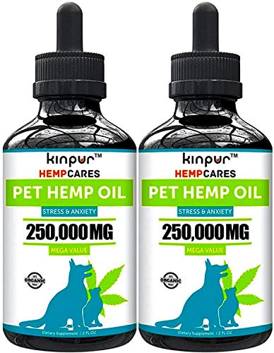 Kinpur-2-PACK-500000MG-Hemp-Oil-for-Dogs-Cats-Anxiety-Relief-for-Dogs-Cats-Pet-Hemp-Oil-Supports-Hip-Joint-Health-Made-in-USA-Natural-Relief-for-Pain-Omega-3-6-9